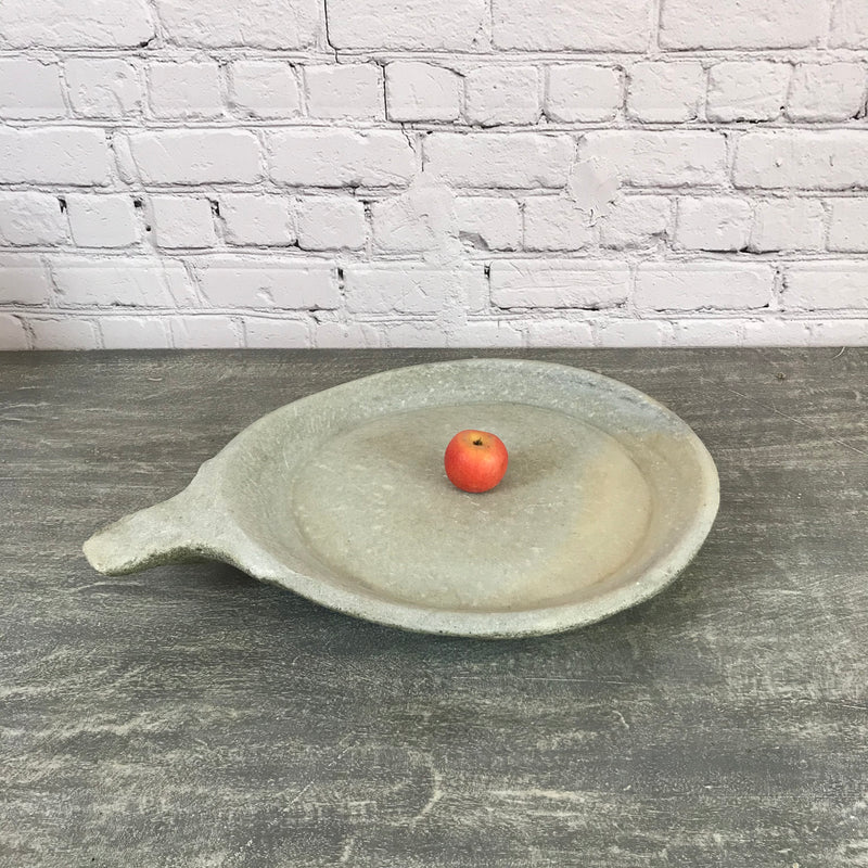 Vintage hand crafted marble bowl | ø51cm | 10194a