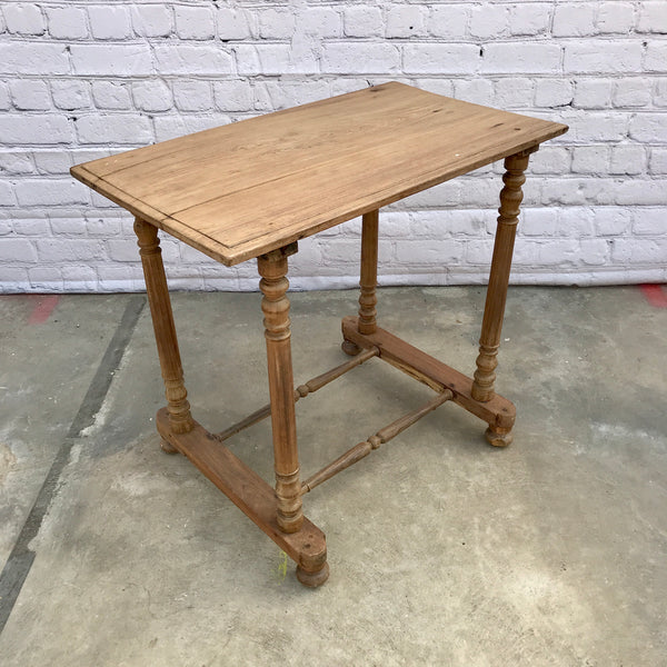 VINTAGE INDIAN TEAK SIDE TABLE (W76CM | H70CM)