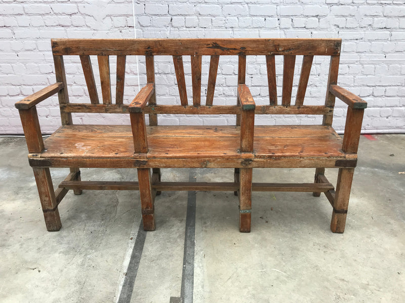 VINTAGE INDIAN CINEMA BENCH (W152CM | H92CM)