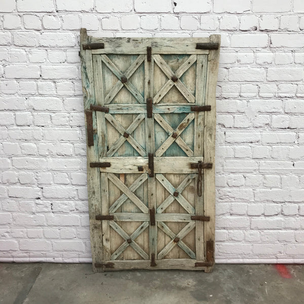 VINTAGE INDIAN TRIBAL GATE SHUTTER/ WINDOW | h141cm w76cm