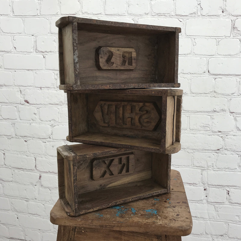 RECLAIMED INDIAN BRICK MOULD | SINGLE (W30CM | H9CM)