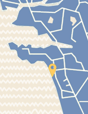 Bandra Map Image