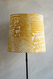 Buy Agartha Taper Lampshade (Gold) Online | Freedomtree.in