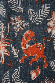 Buy Ahnan Printed Rug (Midnight Blue) Online | Freedomtree.in