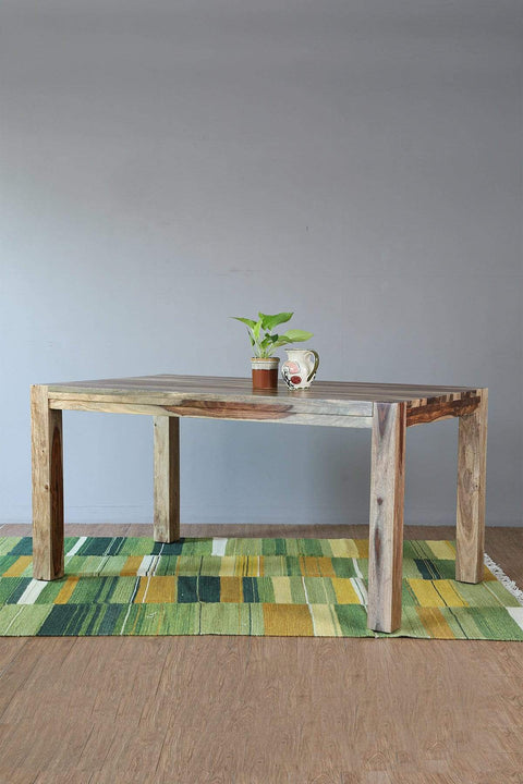Buy Block Dining Table (60 X 36 X 30 In) Online | Freedomtree.in