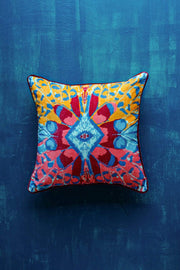 Buy Butterfly (18 X 18 In) Cushion Cover (Multi-Colored) Online | Freedomtree.in
