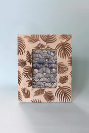 Repurposed Wood Photoframe In Natural Color