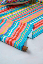 Buy Happy Striper Upholstery Fabric (Multi-Colored) Online | Freedomtree.in