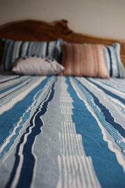 Buy Jiva Bedcover (Blue) Online | Freedomtree.in