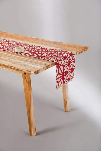 Buy Kiwach Table Runner (Deep Red) Online | Freedomtree.in