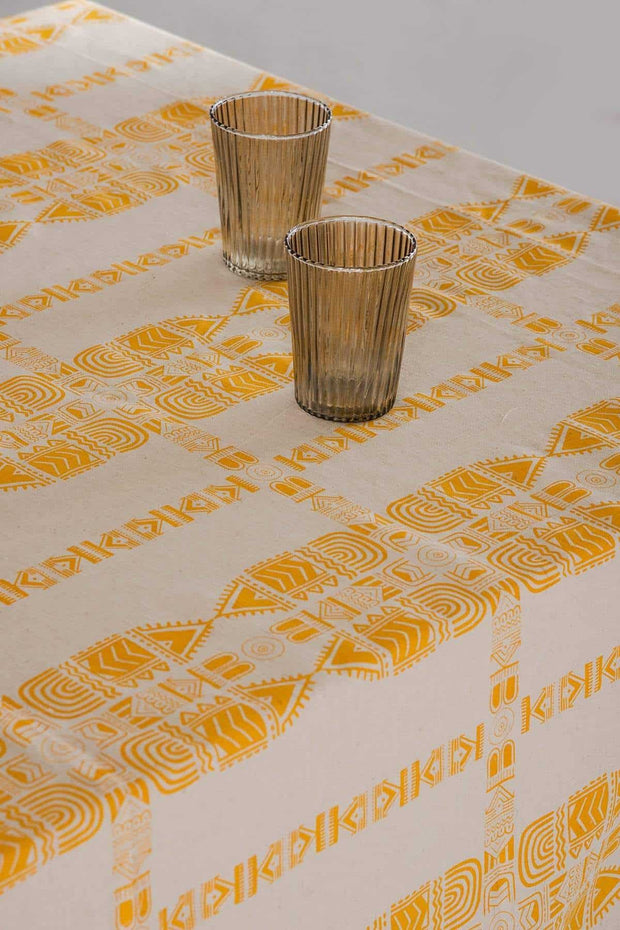 Madia Fine Table Cover (Yellow)