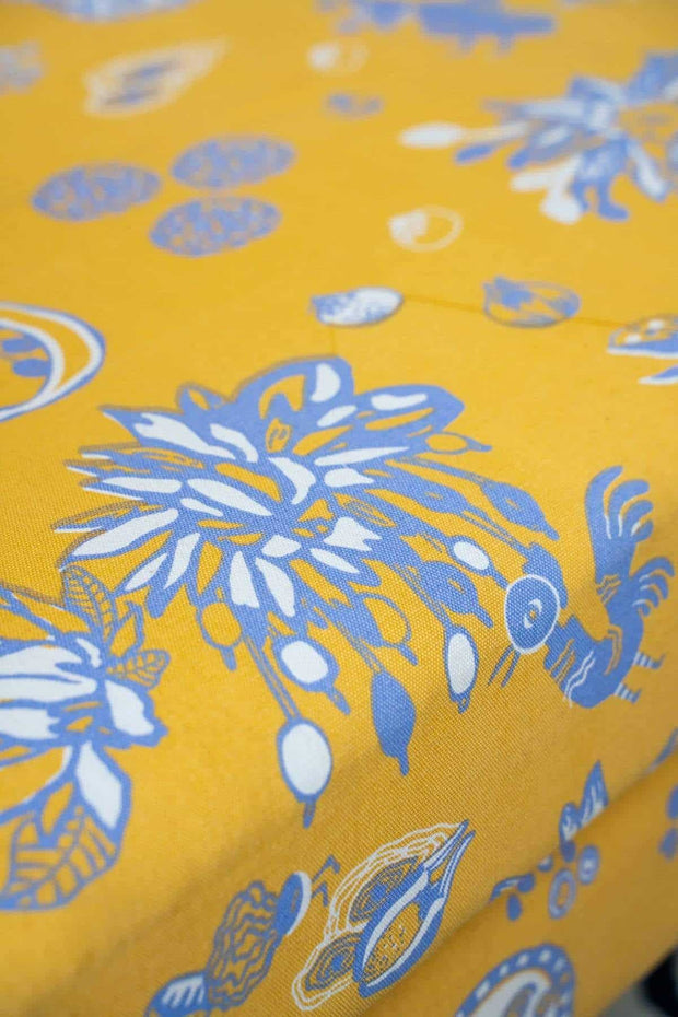 Mahua Upholstery Fabric (Naples Yellow)