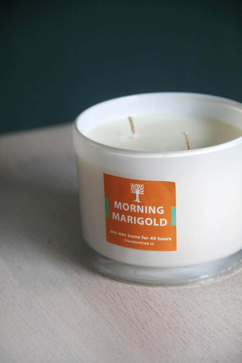 Natural Soy Wax Scented Candle And Handcrafted Style