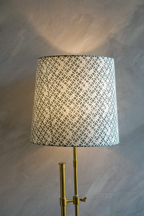 Buy Maya Circle Taper Lampshade (Smokey) Online | Freedomtree.in