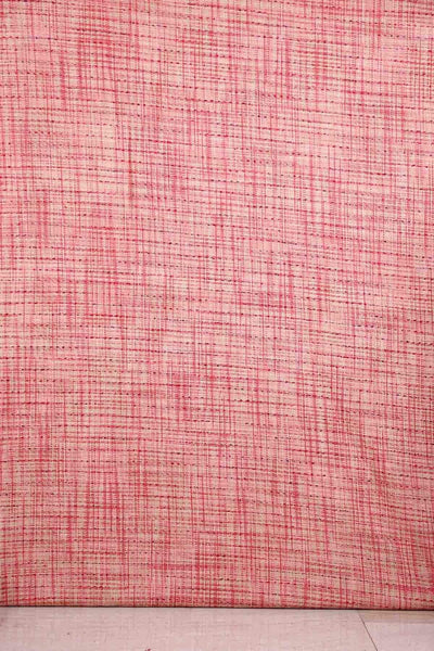 Cotton & Viscose Tweed Upholstery In Soft Pink Color
