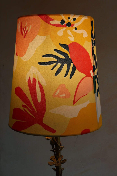 Buy Mohur Taper Lampshade (Yellow) Online | Freedomtree.in