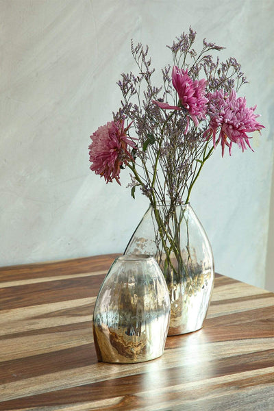 Buy Moon Shadow Glass Vase (Gold) Online | Freedomtree.in