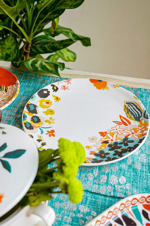 Buy Para Para Dinner Plate (Set Of 2) Online | Freedomtree.in
