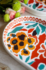 Para Para Large Oval Platter (Multi-Colored)
