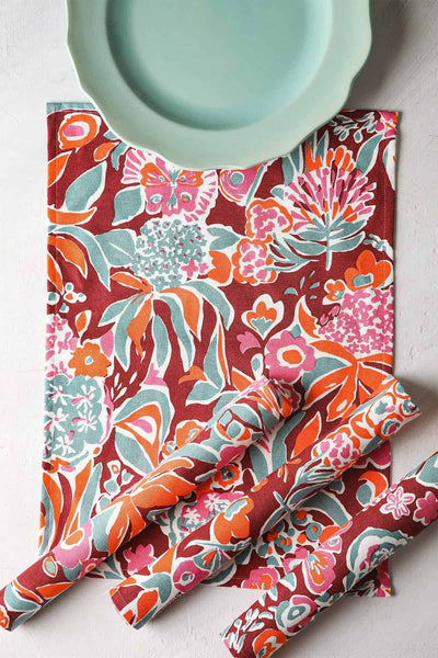 Buy Para Para Table Mat (Set Of 4) Online | Freedomtree.in