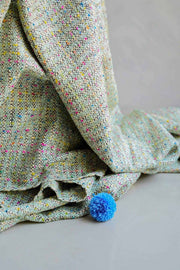 Peekaboo Tweed Throw (Multi-Colored)