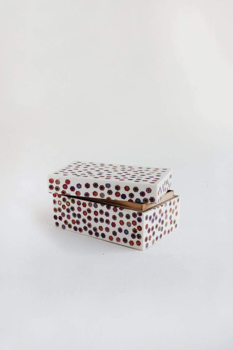 Recycled Box And Recycled Handcrafted Style