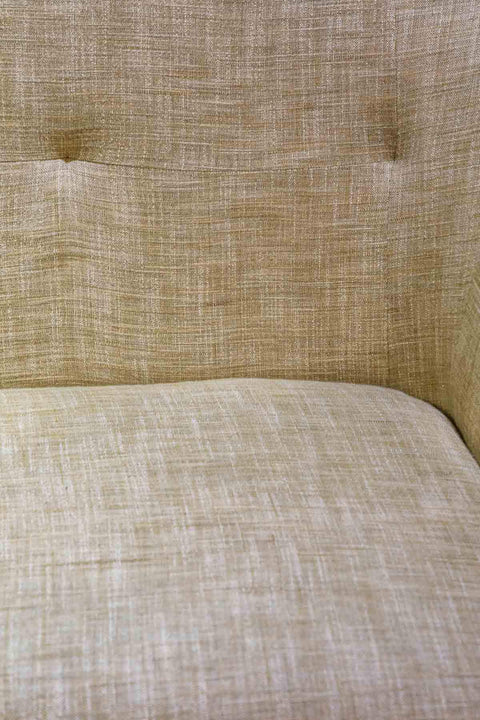 Handloom Upholstery Fabric In Beige Color And Textured Woven Design