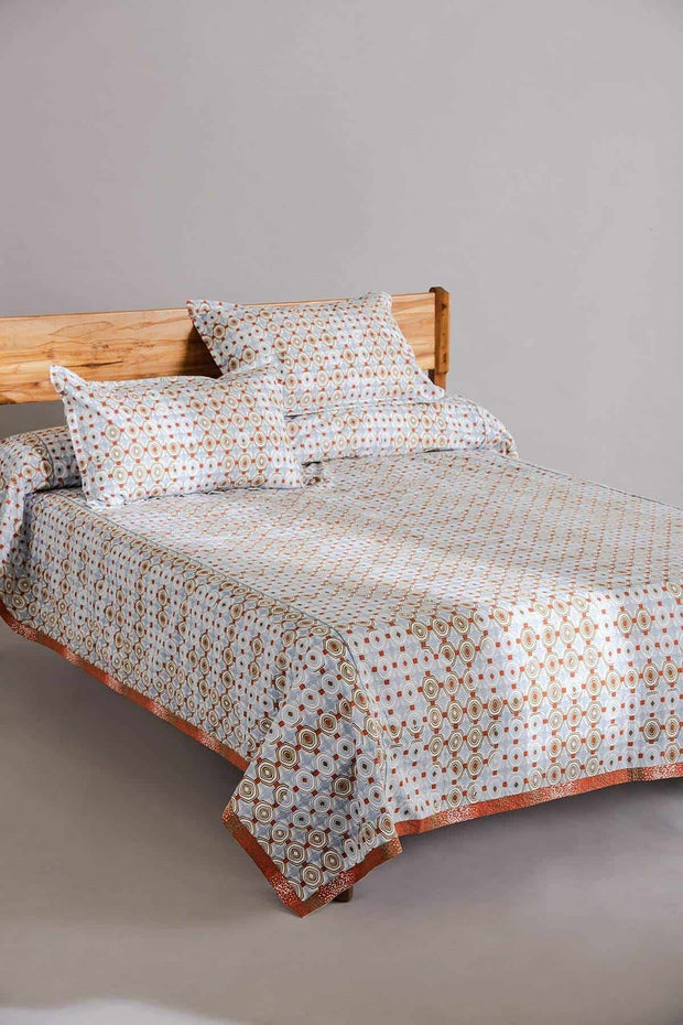 Sej Bedcover (Blue/Brown)