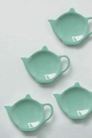 Buy Solid Mint Tea Bag Thinggy (Set Of 4) Online | Freedomtree.in