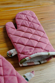 Buy Solid Oven Mitts (Set Of 2) Online | Freedomtree.in