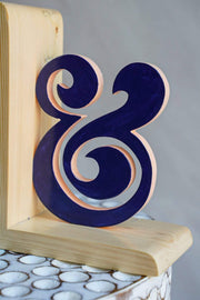 Speechless Bookend (Blue)