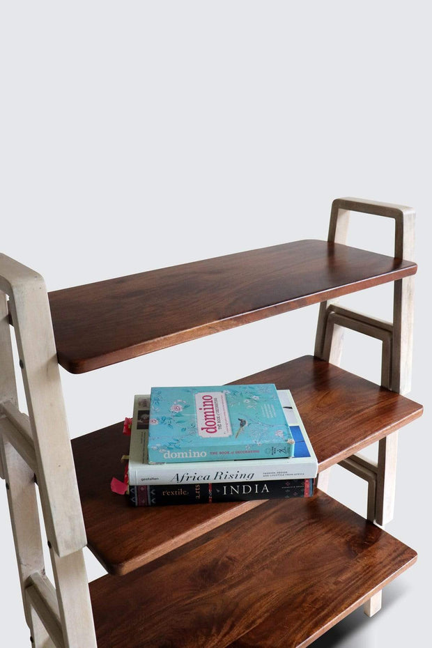 Buy Stackable Bookshelf (Natural) Online | Freedomtree.in