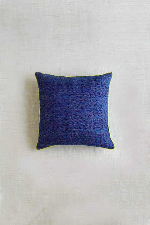 Buy Suits (16 X 16 In) Cushion Cover (Blue) Online | Freedomtree.in