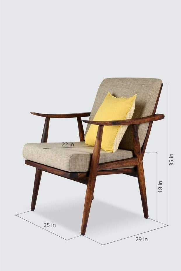 Tachi Accent Chair (Natural)