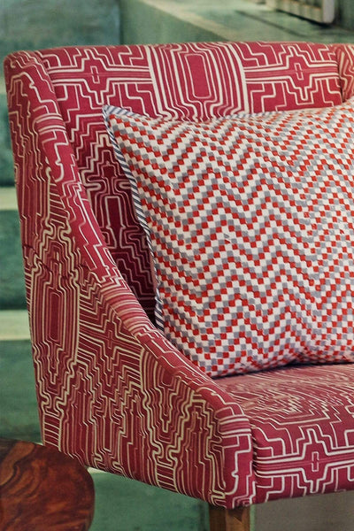 Buy Taram Pink Upholstery Fabric Online | Freedomtree.in