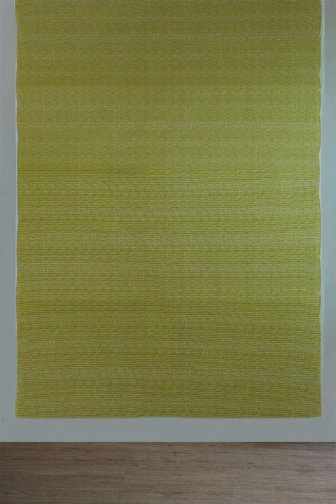 Tippi Upholstery Fabric (Lime Yellow) Swatch