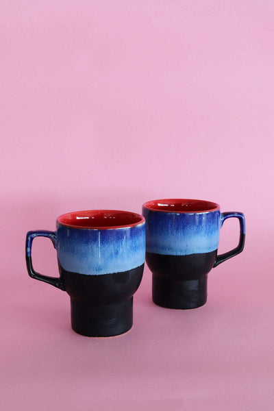 Buy Triple Tone Coffee Mug (Set Of 2) Online | Freedomtree.in
