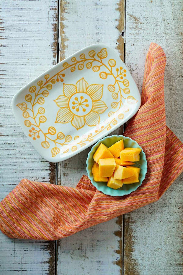 Buy Daffodils Nut Tray (Set Of 2) Online | Freedomtree.in
