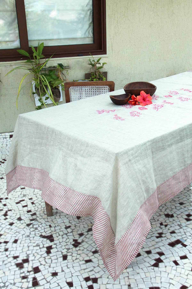 Kendall Table Cover In Beige Shade