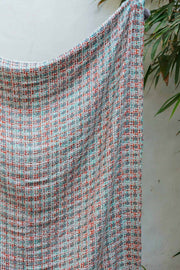 Buy Zebra Crossing Tweed Throw (Multi-Colored) Online | Freedomtree.in