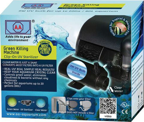Aa Aquarium Inc. - Green Killing Machine Clip-on Uv Kit