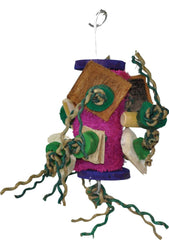 A&e Cage Company - Java Wood Fun Spongy Bird Toy