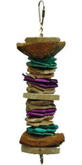 A&e Cage Company - Java Wood Triple Decker Bird Toy