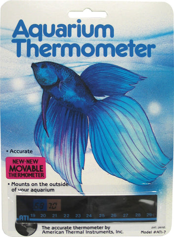 Lcr Hallcrest Llc.-Liquid Crystal Horizontal Aquarium Thermometer
