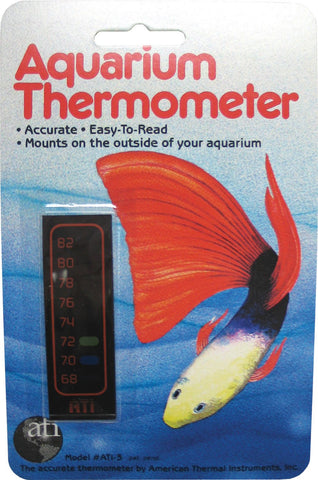 Lcr Hallcrest Llc. - Liquid Crystal Vertical Aquarium Thermometer