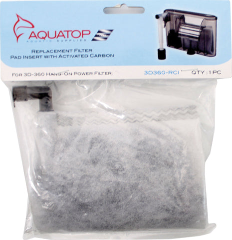 Aquatop Aquatic Supplies - Filter Replacement For 3hob/ns4g/ns7g