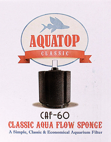 Aquatop Aquatic Supplies - Classic Aqua Flow Sponge Aquarium Filter