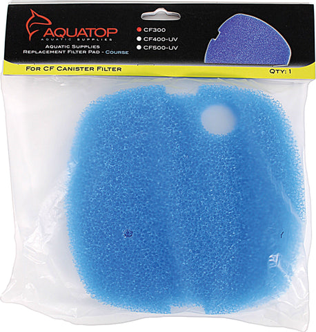 Aquatop Aquatic Supplies - Replacement Course Filter Pad For Cf300 Canister
