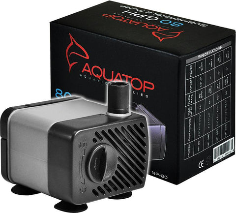 Aquatop Aquatic Supplies - Nano Pump Submersible Adjustable Flow Rate