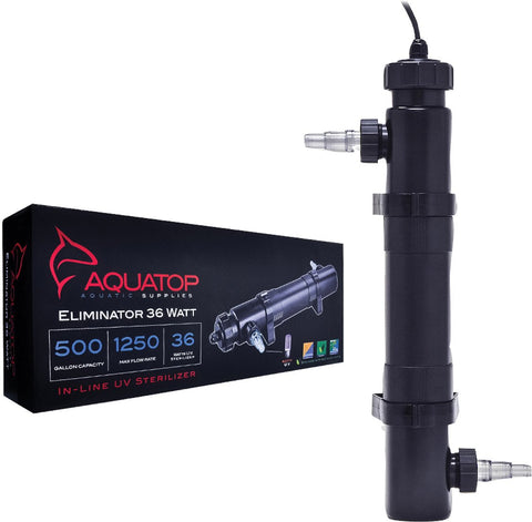 Aquatop Aquatic Supplies - Inline Uv Aquarium Sterilizer